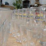 verres et carafes