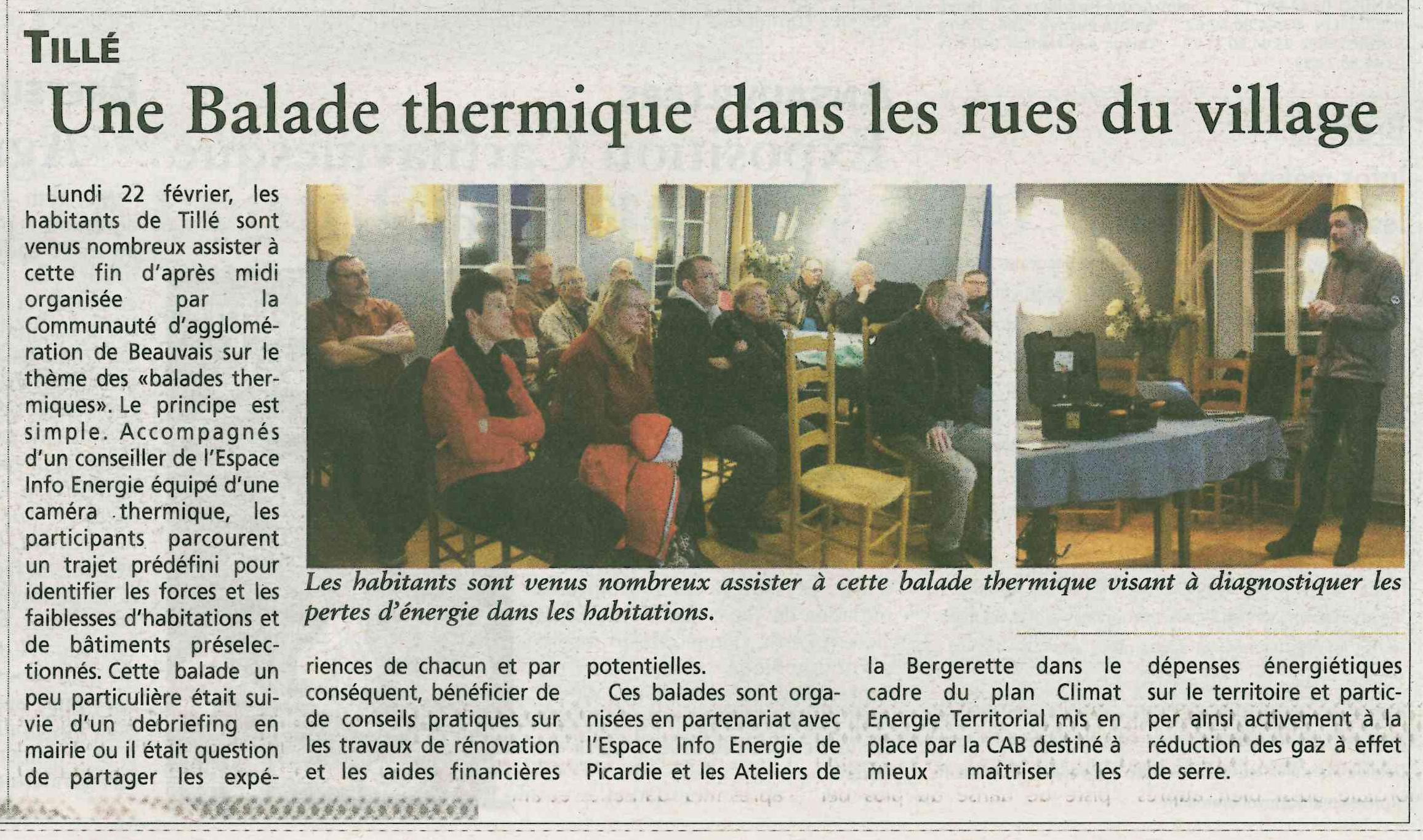 Oise hebdo - Balade thermo tillé - sélec