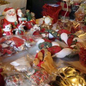 décos de Noël, sapins et guirlandes