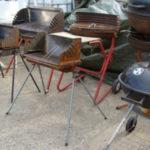 barbecues en été, matériel de cheminée en hiver