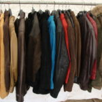 manteaux cuir