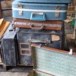 valises et malles anciennes